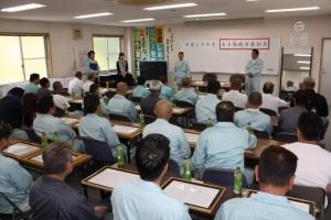 平成29年度 永年勤続者表彰式を執り行いました。