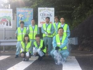 『早朝 備前市一斉清掃活動』に参加いたしました。