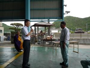 岡山県警本部より、優良運行管理者表彰を受けました。